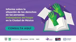 Informe sobre derechos de personas trabajadoras del hogar