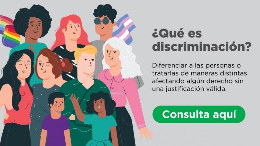 ¿Qué es discriminación?